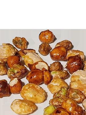 Fruits secs enrobés