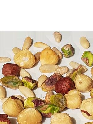 Fruits secs grillés et salés