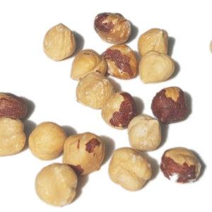 Noisettes grillées à la Fleur de sel de Salies-de-Béarn